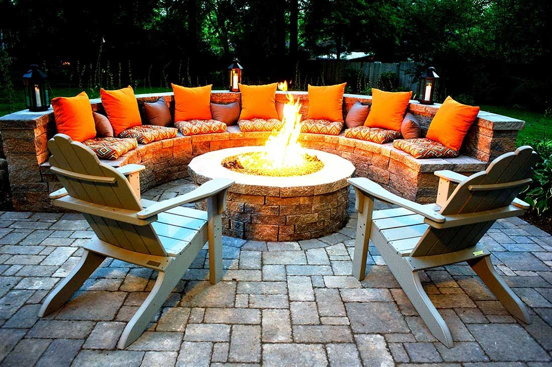 Outdoor Fire Pits-Allen TX Professional Landscapers & Outdoor Living Designs-We offer Landscape Design, Outdoor Patios & Pergolas, Outdoor Living Spaces, Stonescapes, Residential & Commercial Landscaping, Irrigation Installation & Repairs, Drainage Systems, Landscape Lighting, Outdoor Living Spaces, Tree Service, Lawn Service, and more.